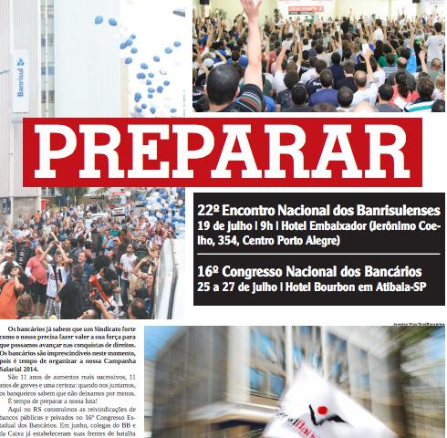 O Bancário | Edição nº 9 | 15 de julho de 2014