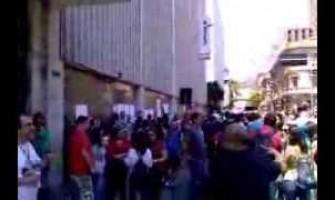 30 dias da greve do Banrisul na Caldas Junior