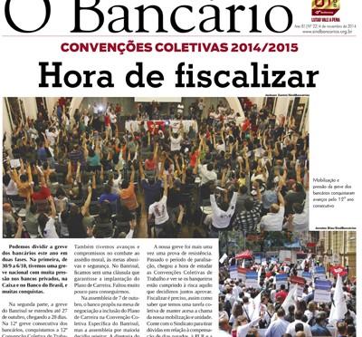 O Bancário | Edição nº 22 | 4 de novembro de 2014