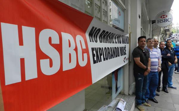 Bancários do HSBC paralisam agências em ato contra ...