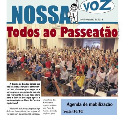 Nossa Voz | Edição 10 de outubro de 2014