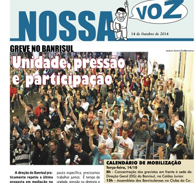 Nossa Voz | Edição 14 de outubro de 2014