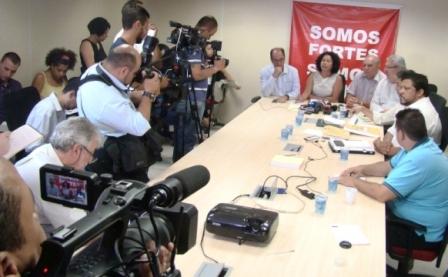 Centrais sindicais emitem nota conjunta em defesa dos direitos e ...