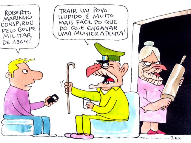 Globo golpista