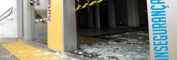 Feriado de Carnaval registra nove ataques a bancos no RS