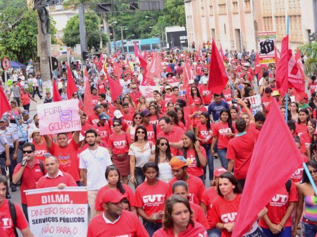 CUT marca mobilização por direitos e contra PL 4330 no ...