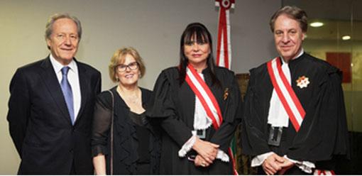 Maria Helena Mallmann toma posse no Tribunal Superior do Trabalho