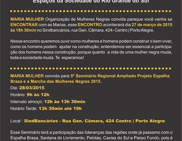 5º Seminário Regional Ampliado do Projeto Espalha Brasa será no ...