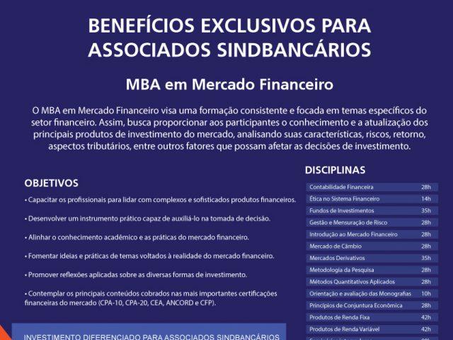 SindBancários oferece desconto nos cursos de MBA e especializaçã...