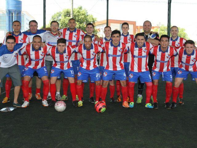 Campeões e vices do futebol sete do SindBancários ...