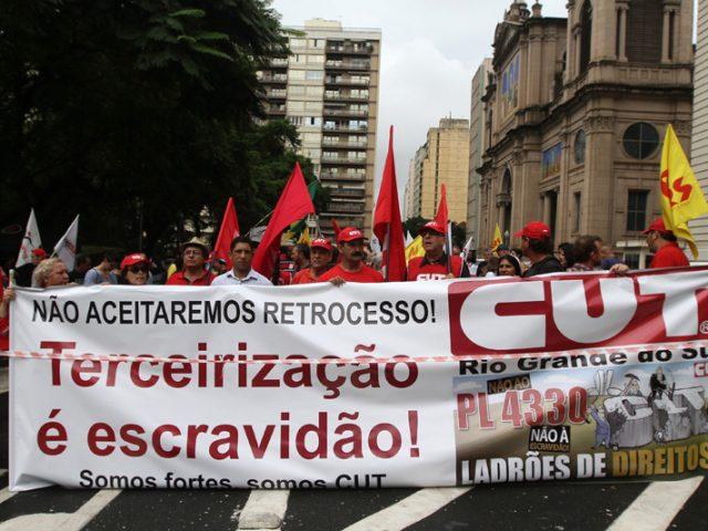 Paralisações e manifestações marcam o dia de luta ...