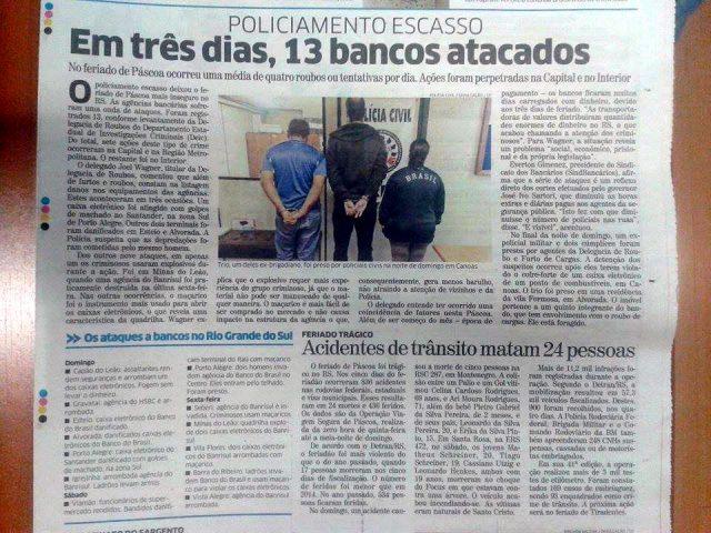 SindBancários propõe debate sobre o aumento de ataques ...