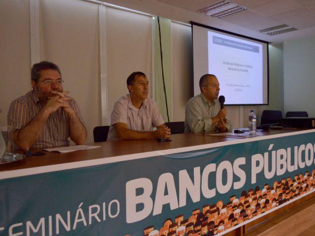 Assista íntegra de palestras em Seminário sobre Bancos Pú...
