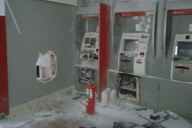 Arrombamento de Agência do Santander em Novo Hamburgo foi ...