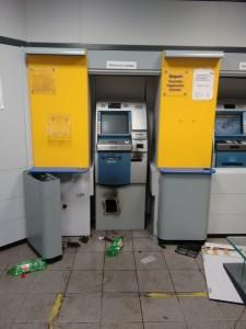 Assaltantes arrombam caixas eletrônicos do Banco do Brasil em ...