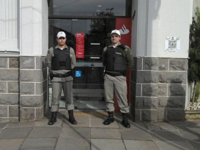 Caixa eletrônico do Santander é arrombado em Taquara na madrugada ...