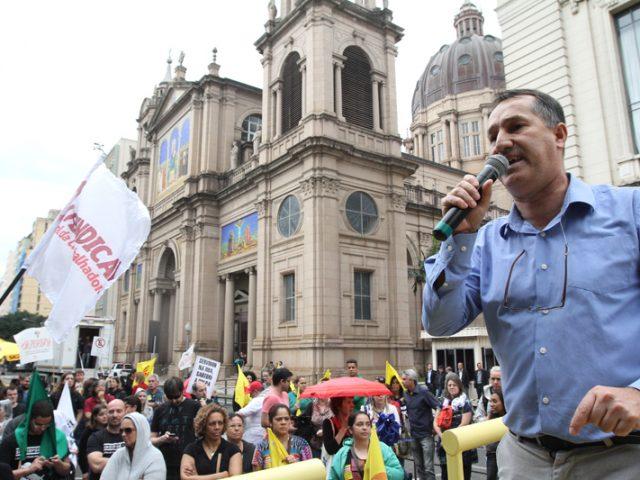 Presidente do SindBancários cobra da Fenaban, em São ...