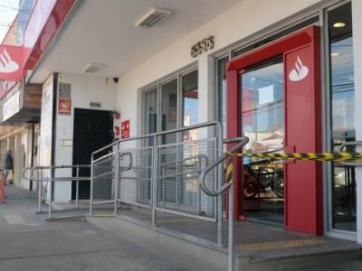 Fim de semana com ataques ao Santander em P. Alegre, Sicredi em Sananduva e Bradesco em Cerro Grande