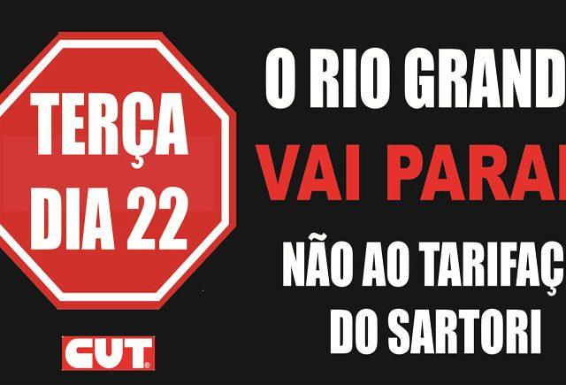 SindBancários participa de dia de luta contra tarifaço ...