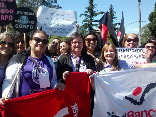 Diretoras do Sindicato debateram lutas feministas na Marcha Mundial das ...