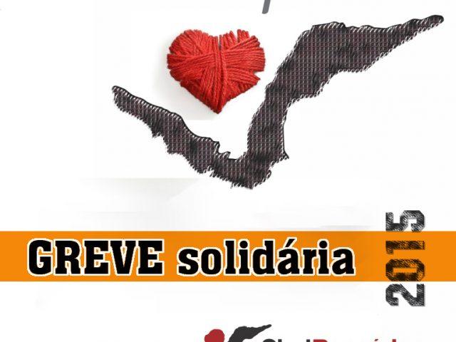 GREVE da solidariedade dos bancários recolhe donativos para ajudar ...