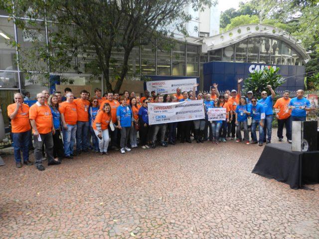 Dia Nacional de Luta contra reestruturação da Caixa, com ...