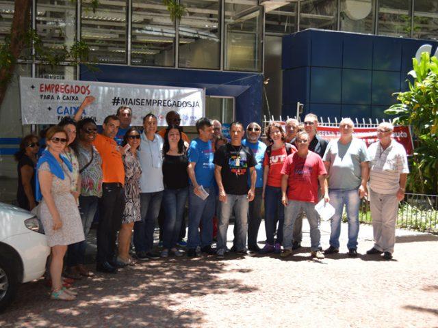 Sindicato comemora aniversário da Caixa e mobiliza sociedade contra ...