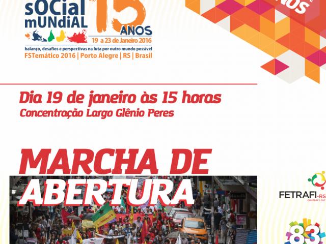 SindBancários chama à participação na Marcha de Abertura do ...