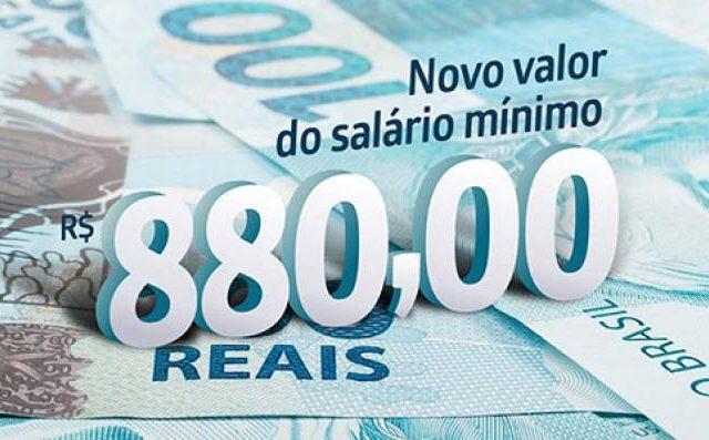 Valorização do mínimo acrescentará R$ 57 bilhões à economia