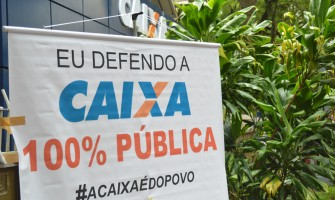 Ato Nacional em Defesa dos Bancos Públicos ao meio-dia desta quinta-feira, em frente a Caixa Federal!