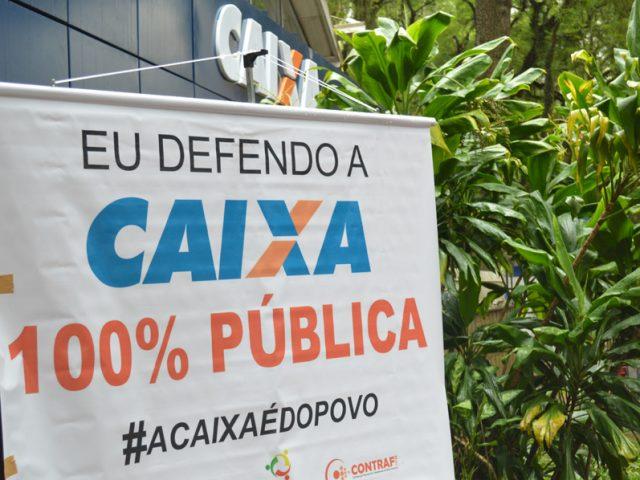 Ato Nacional em Defesa dos Bancos Públicos ao meio-dia ...