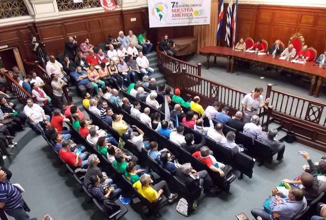 ESNA reúne sindicalistas em Montevidéu para debater enfrentamento ...
