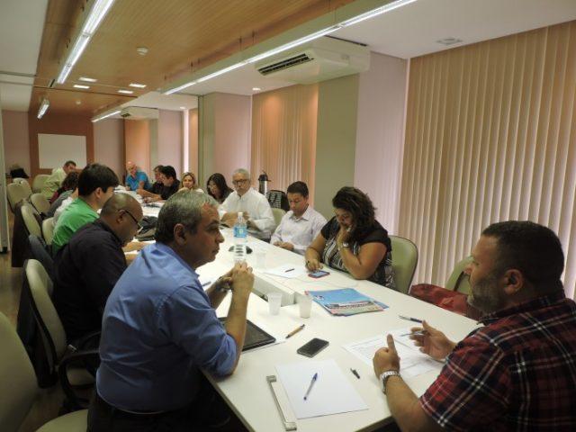 Reunião com secretários-gerais das Federações e Sindicatos ...