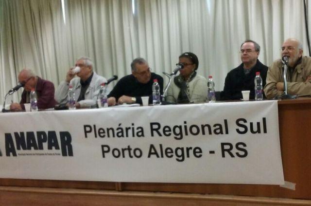 Plenária da Anapar repudia PLP 268/2016 que muda gestão ...