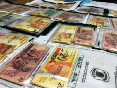 PF descobre dinheiro falso fabricado em Porto Alegre e distribuído no Brasil