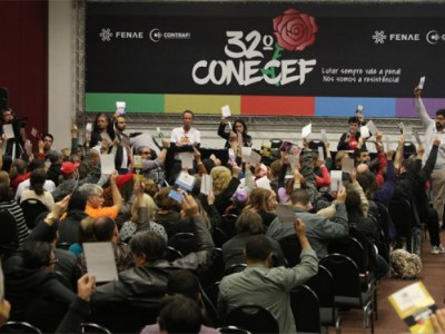 Paridade de gênero passou a ser obrigatória no 32º Congresso Nacional dos Empregados da Caixa
