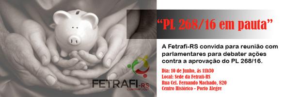 Fetrafi-RS reúne com parlamentares para debater ações contra ...