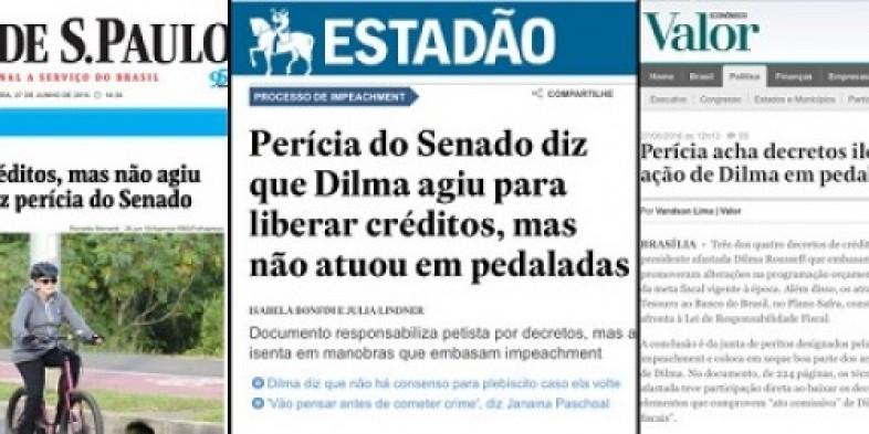 Perícia do Senado comprova que Dilma é inocente. E agora?