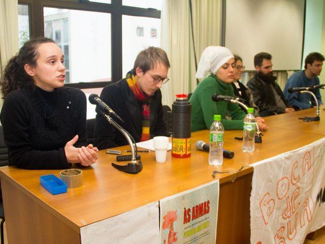 """SindBancários sedia encontro """"Às armas – pesquisa militante"""", em debate ..."""
