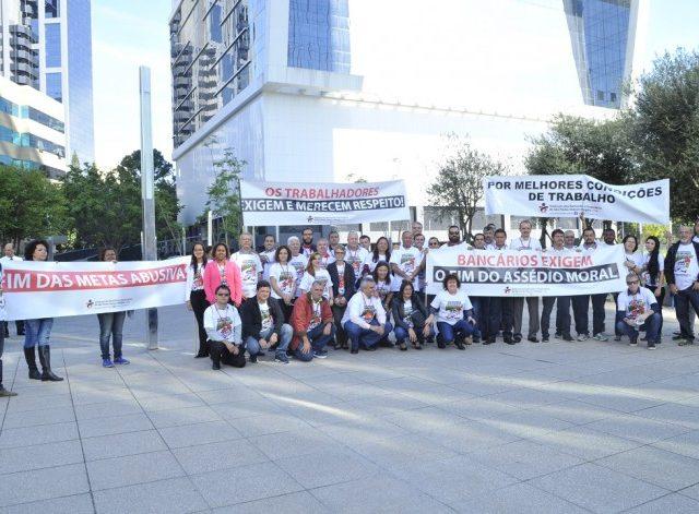 Colegas do Santander buscam renovação do aditivo com avanç...
