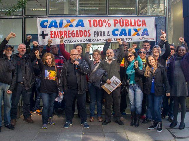 Bancários defendem Caixa 100% Pública neste Dia Nacional de ...