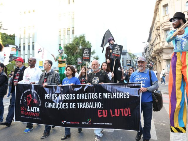 Caminhada dos Bancários chama para a luta, participação ...