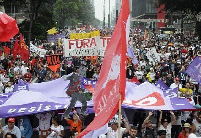 Centrais e movimentos promovem Dia Nacional de Paralisação na ...