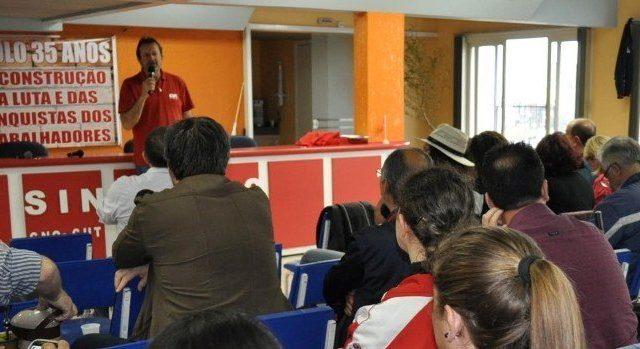 Plenária da CUT-RS organiza atos e paralisações em ...