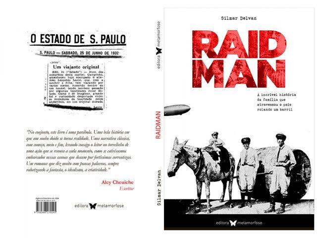 """Colega aposentado da Caixa lança romance """"Raidman"""" na Feira ..."""