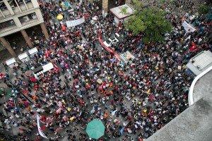 Servidores estaduais realizam assembleia unificada contra pacotaço de Sartori  ...