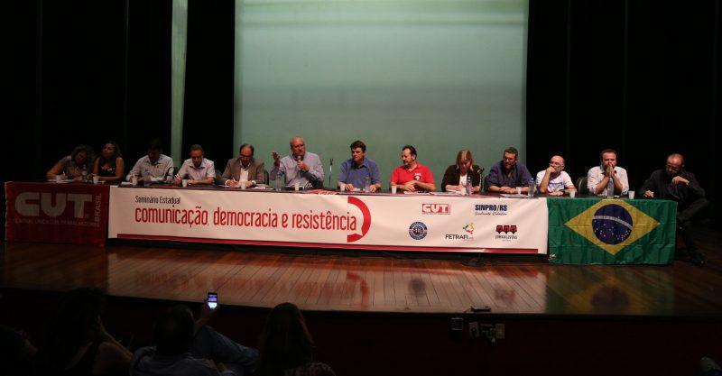 """Franklin Martins e um dos motivos do golpe: """"É impossível ter democracia com esse oligopólio da comunicação"""""""