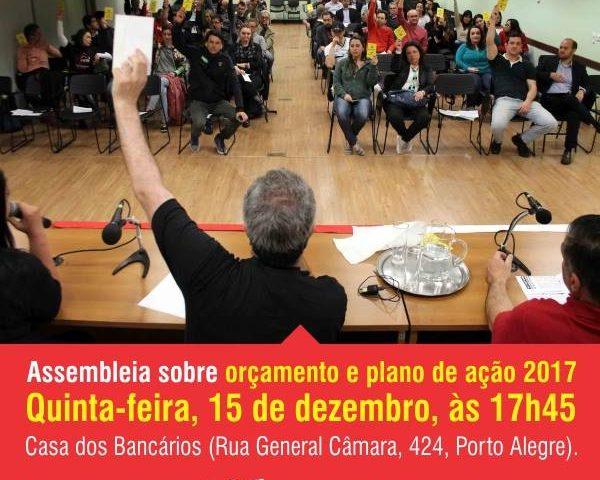 Errata – Assembleia do Sindicato para debater Orçamento Anual acontece ...