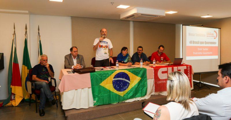 Seminário de Comunicação propõe oposição ao poder da mídia conservadora na Fetrafi-RS