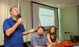 Papel fundamental dos bancos público é reafirmado em debate com economistas do Dieese no SindBancários